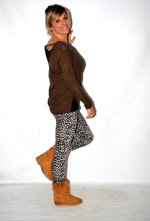 Leggins estampados animal print